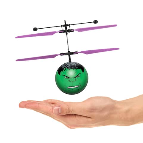 World Tech Toys Marvel Avengers Hulk IR UFO Heli Ball