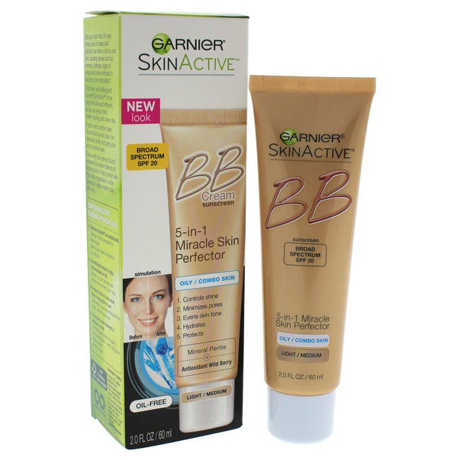 Garnier 2-ounce 5-in-1 Miracle Skin Perfector BB Cream (I...