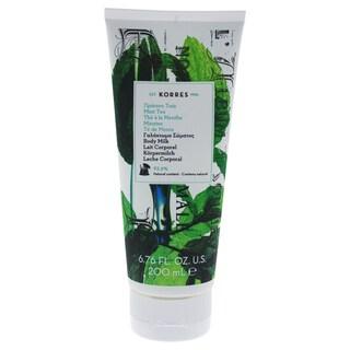 Korres 6.76-ounce Mint Tea Body Milk