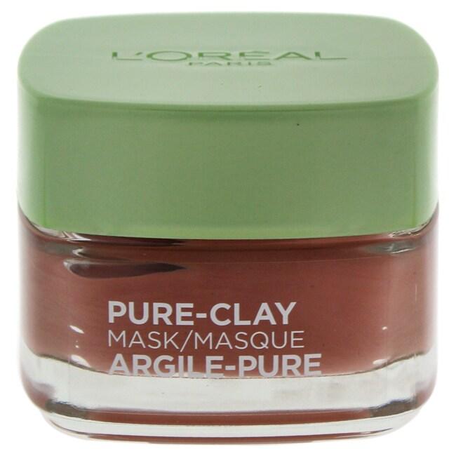 L'Oreal Paris Pure-Clay 1.7-ounce Exfoliate & Refine Pore...