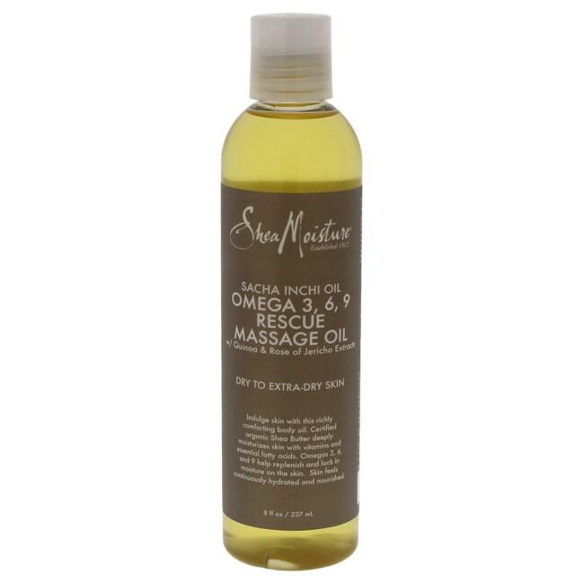 Shea Moisture 8-ounce Sacha Inchi Oil Omega-3-6-9 Rescue ...