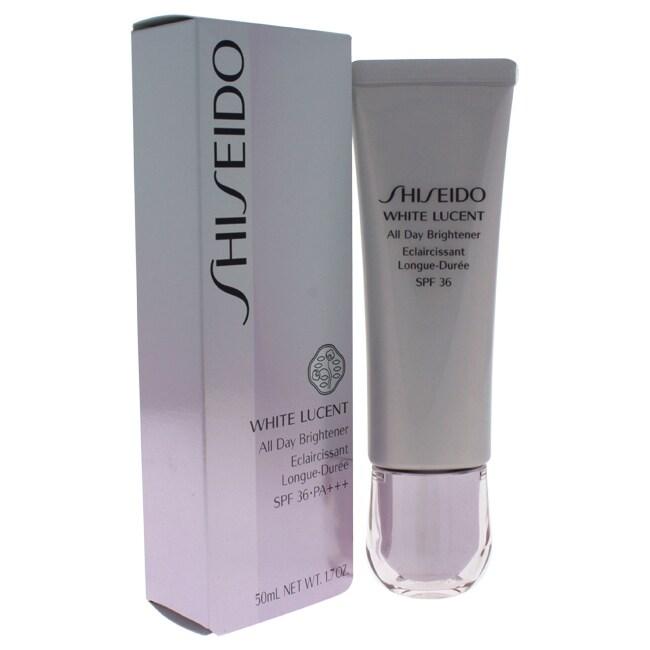 Shop Shiseido White Lucent 1 7 Ounce All Day Brightener Cream Spf