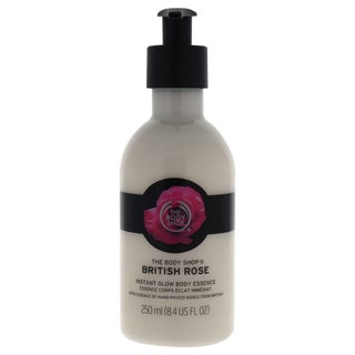 The Body Shop British Rose 8.4-ounce Instant Glow Body Essence