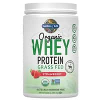 Garden of Life Strawberry Organic Grass Fed Whey Protein (12 Servings)