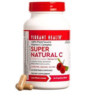 Vibrant Health Super Natural C (60 Capsules)