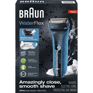 Braun WF2S WaterFlex Wet & Dry Electric Shaver