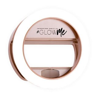 Impressions Vanity GlowMe 2.0 Rechargeable LED Selfie Ring Light