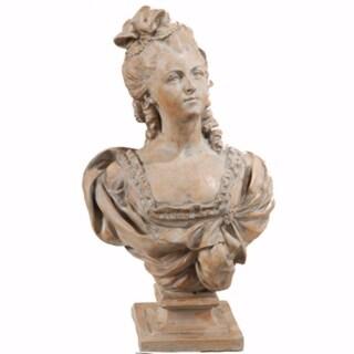 Artful Female Sculpture Bust Statue