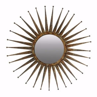 1d64289bd21 Top Product Reviews for Contemporary Flare Mirror, Medium - Gold ...