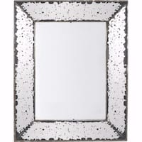 Old-fangled Marion Square Mirror - Clear - N/A