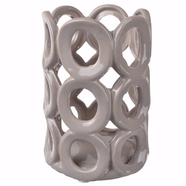 Slickly Ornate Nyla Candle Holder