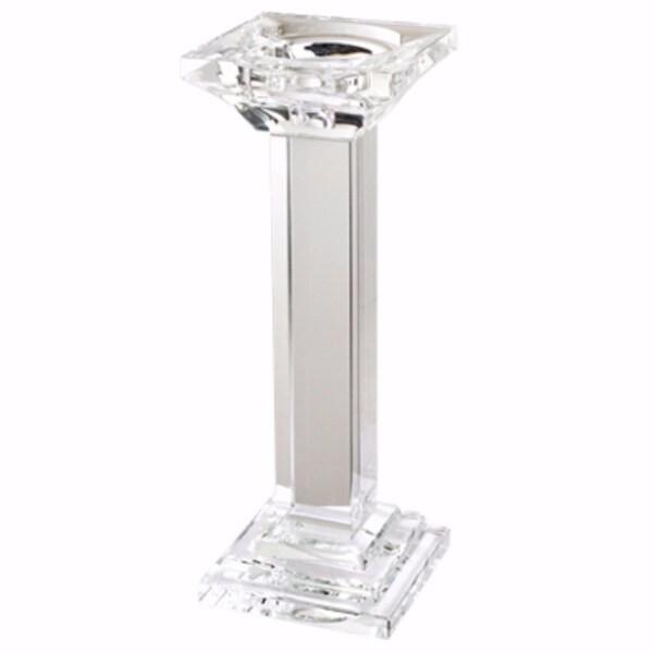 Flawless Crystal Pillar Candle Holder