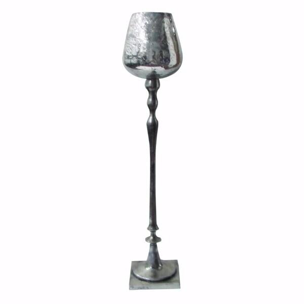 Stylishly Designed Keavy Aluminum Candle Holder