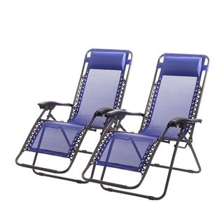 Zero Gravity Chairs Case Of 3 Lounge Patio Chairs Outdoor Yard Beach