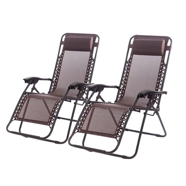 Zero Gravity Chairs Case Of 4 Lounge Patio Chairs Outdoor Yard Beach