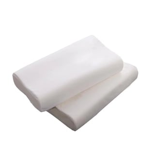 Standard 2 Contour Memory Foam Pillow for Relieving Neck and Shoulder