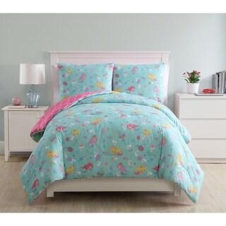 VCNY Home Mermaid Princess Reversible Comforter Set