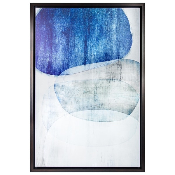 Shop DISCONTINUED - Abstract Shapes Matte Finish Painting Print ...