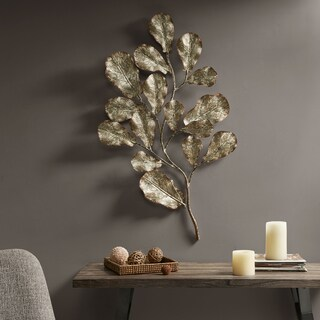 Madison Park Darlow Gold Metal Wall Decor