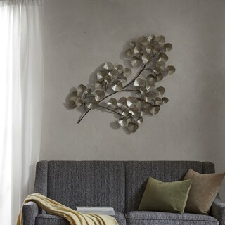 Silver Wall Decor Captivating Wall Decor Silver Accent Pieces For Less  Overstock Design Inspiration