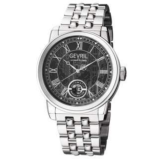 Gevril Men's Automatic Silver-Tone Stainless steel Bracelet Watch