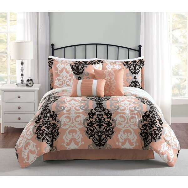 Carmela Home Downton 7-Piece Reversible Comforter Set