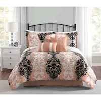 Carmela Home Downton 7-Piece Reversible Comforter Set