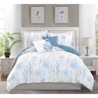 Boho Living Fresh Meadow 5-Piece Reversible Comforter Set