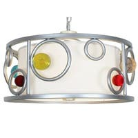 Van Teal 800650 Fast Moving Wheels Brilliant Silver Metal Pendant - Multi-color