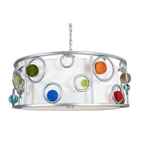 Van Teal 800550 Wheels to Go Silver Metal Pendant Light Fixture