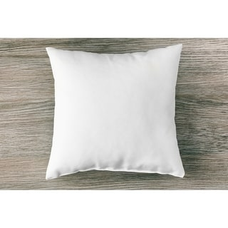 2-Pack 95% Feather 5% Down Pillow Inserts Forms for Decorative Shams and Covers in Square Euro Shape
