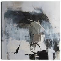 24X24 Abstracted VIII, Gel Coated Canvas Print Wall Art