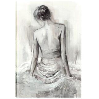 36X24 Madamoiselle II, Gel Coated Canvas Print Wall Art