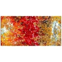 30X60 Autumn, Beautiful Canvas Print Wall Art