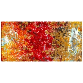 Hobbitholeco Irina K. 'Autumn' Gel-coated Canvas Print Wall Art