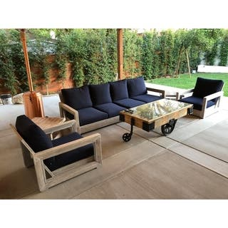 Teak Patio Furniture - Outdoor Seating & Dining For Less ...