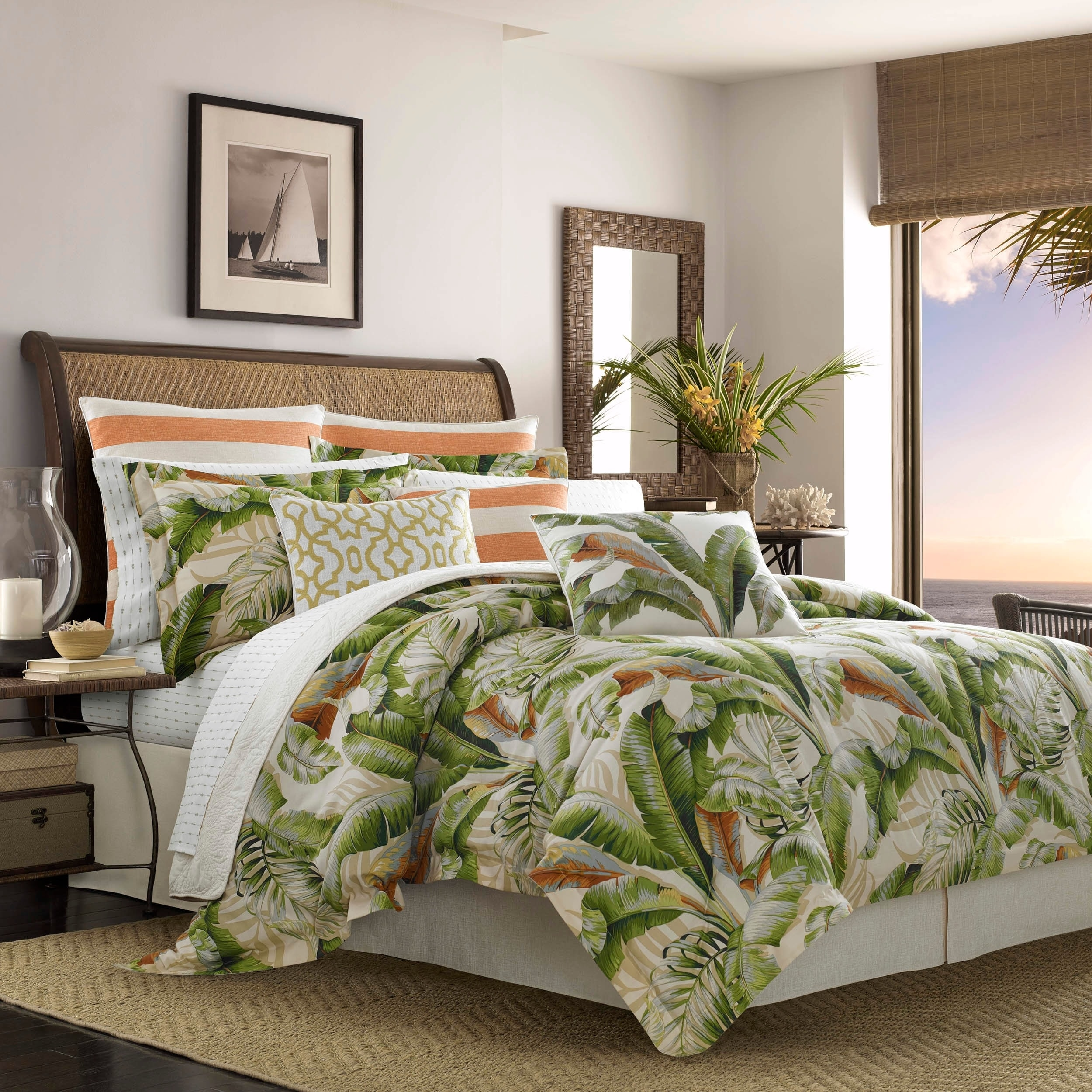 Picture of: Tommy Bahama Palmiers 4 Piece Comforter Set On Sale Overstock 18843885