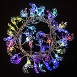 Electric 50 LED Multicolor Moon Extendable Christmas Light 19.5 Feet