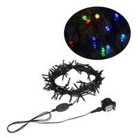 Electric 100 LED Multicolor Christmas Holiday Light 34 Feet