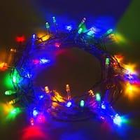 ALEKO Solar Multicolored 60 LED Christmas String Lights Lot of 2