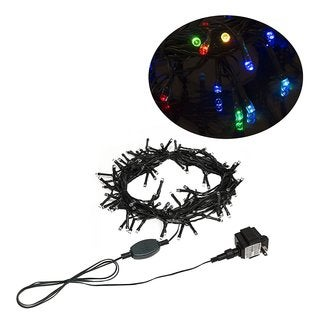 ALEKO Electric 100 LED Multicolor Extendable Christmas Light Lot of 2