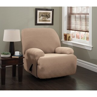 Stretch Sensations Stretch Double Diamond Jumbo Recliner Slipcover