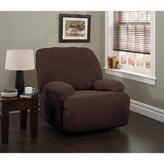 Stretch Sensations Stretch Double Diamond Jumbo Recliner Slipcover - jumbo recliner