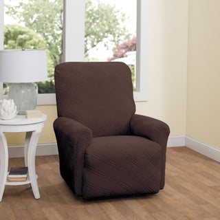 Stretch Sensations Stretch Double Diamond Recliner Slipcover