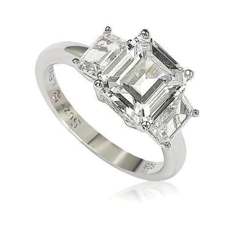 be3bc3d4580a3 Buy Emerald Cubic Zirconia Rings Online at Overstock | Our Best ...