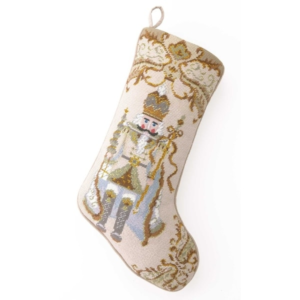 c4e1d486a Shop Nutcracker Needlepoint Stocking - Free Shipping On Orders Over  45 -  Overstock - 18844322