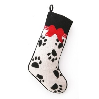 Paws Needlepoint Stocking