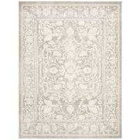Safavieh Reflection Light Grey/ Cream Polyester Rug - 8' x 10'