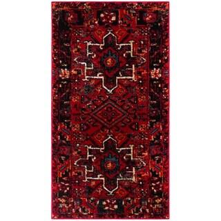 """Safavieh Vintage Hamadan Vintage Red/ Multi Rug - 2'3"""" x 4'"""