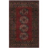 Safavieh Handmade Heritage Red Wool Rug - 6' X 6' Square